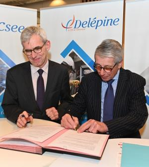 Signature convention BTS Technico-commercial entre le lycée PSH et le CFA Delépine (vignette)