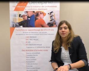 Témoignage de Marion CHAPELAIN - apprentie en BTS Electrotechnique
