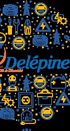 Logo métiers du CFA Delépine.